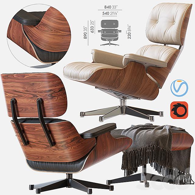 Кресло Eames Lounge Chair