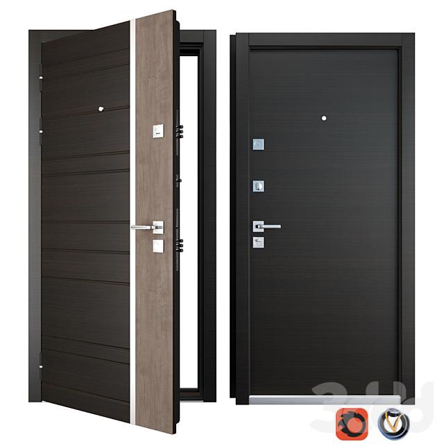Входная металлическая дверь Darcy (Zimen)