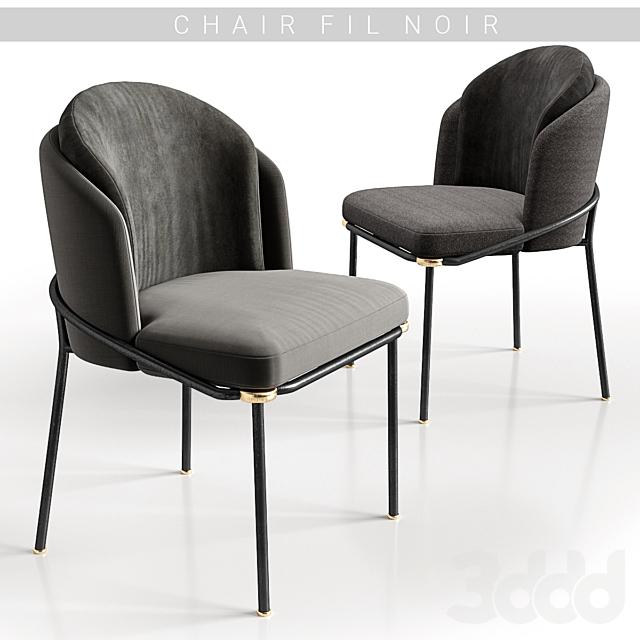 Chairs Minotti Fil noir