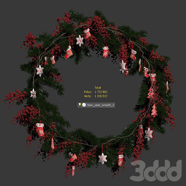 Рождественский венок v2
