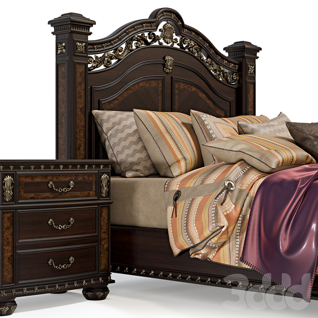 Storrs Bedroom Set  from Astoria Grand Shop
