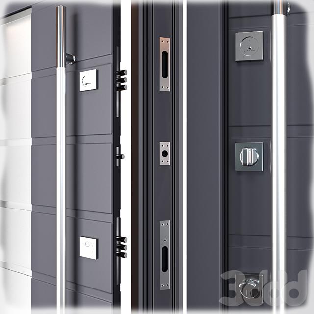 Входная металлическая дверь Ortis (Zimen)