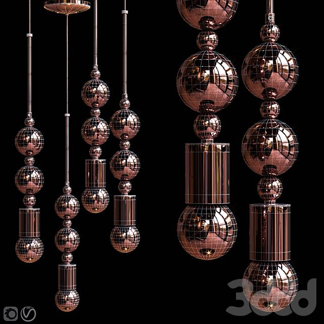 Подвесной светильник Beaded Pendant Lamp Spheres