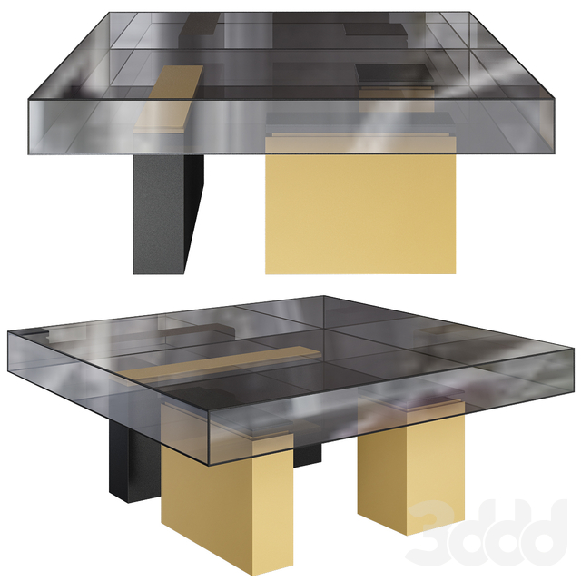 Ipe Cavalli (Visionnaire) 2019 MARTY Low table