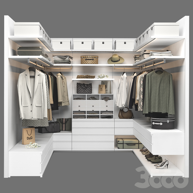 Poliform Ubik Walk-in Closet 3