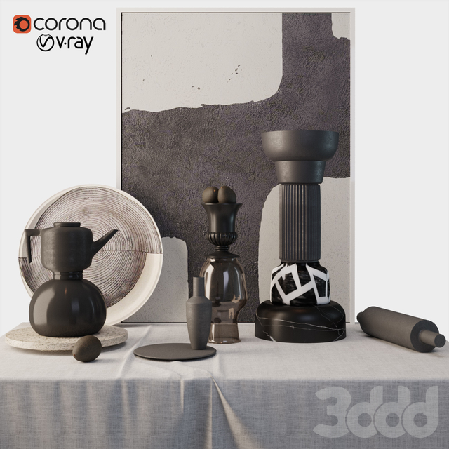 Decorative set N1