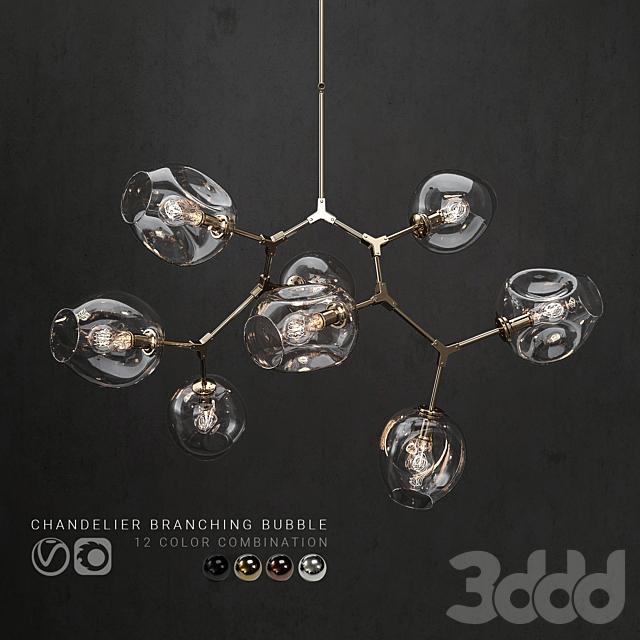 Branching bubble 8 lamps 2