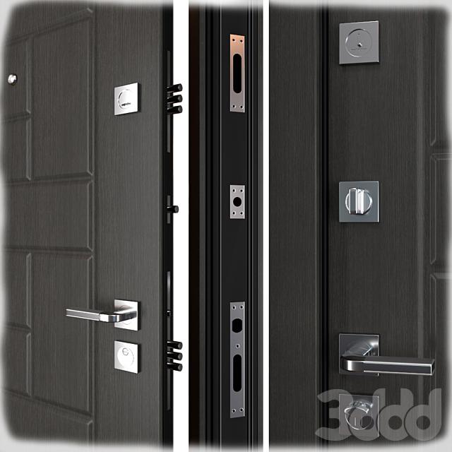 Входная металлическая дверь Oldi (Zimen)
