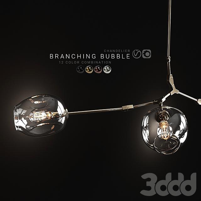 Branching bubble 3 lamps 2