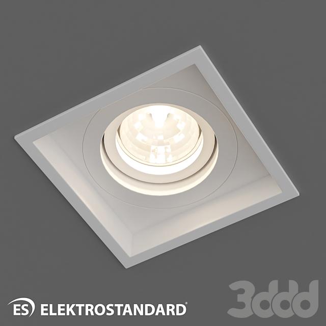 ОМ Алюминиевый точечный светильник Elektrostandard 1071/1 MR16 WH