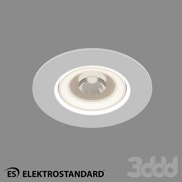 ОМ Встраиваемый потолочный светильник Elektrostandard 9914 LED 6W WH