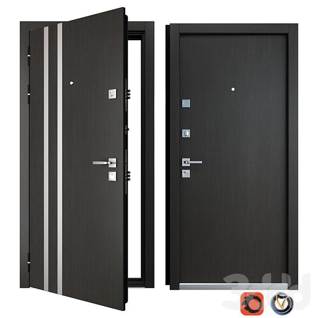 Входная металлическая дверь Parallel (Zimen)