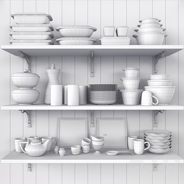 Набор винтажной посуды Purex