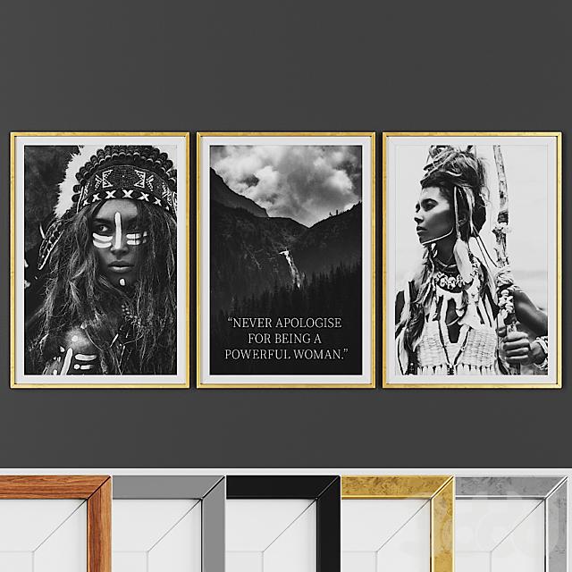Picture frame set 00017-33