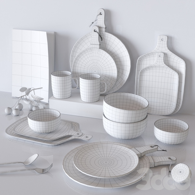 Gold Marble Glaze Ceramic Plates