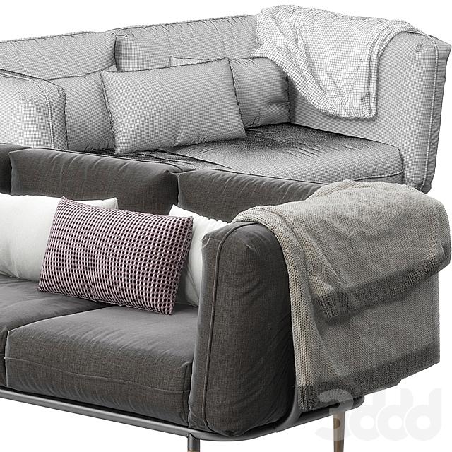 Urban sofa by Cane Line