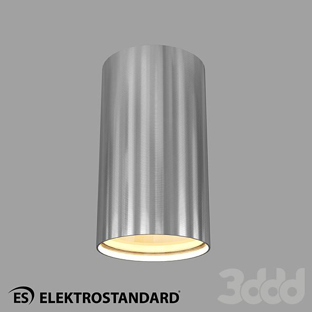 ОМ Накладной точечный светильник Elektrostandard 1081 GU10 SCH
