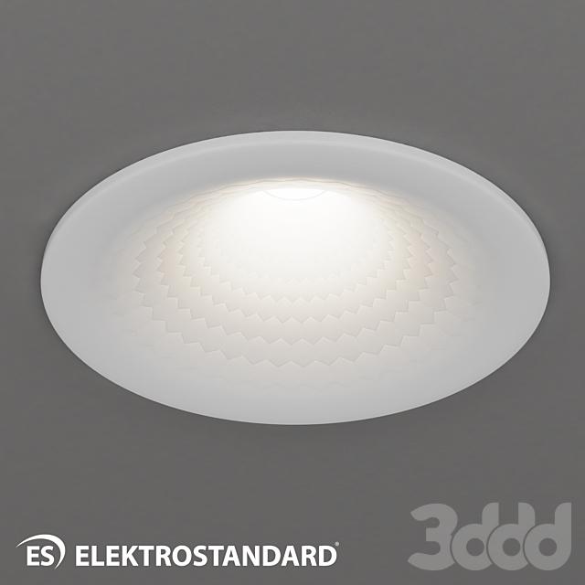 ОМ Встраиваемый светодиодный светильник Elektrostandard 9905 LED 7W WH