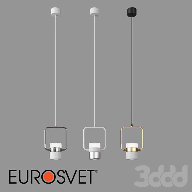 ОМ Подвесной светильник Eurosvet 50165/1 LED Oskar