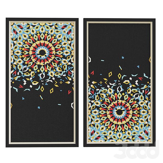 Morocco Mosaic frame