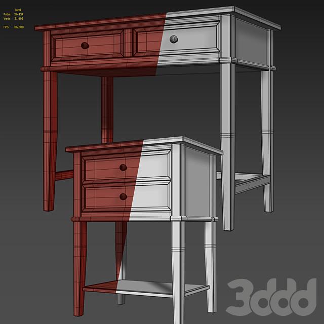 Комод /консоль и тумба Dmitry. Dresser, nightstand by Beachcrest Home