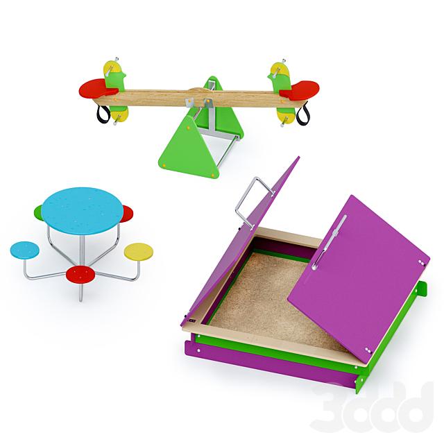 Детское игровое оборудование Лебер Групп