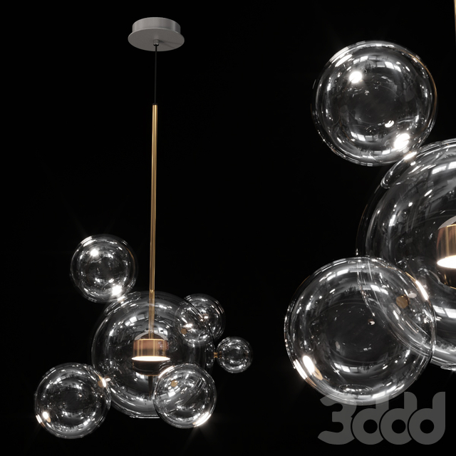 Bolle Pendant 06 Bubbles Giopato & Coombes
