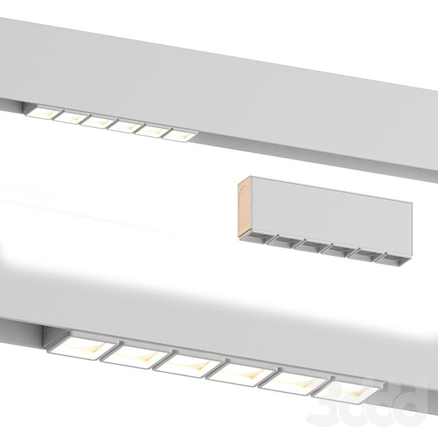 Трековый светильник Spot 6 White от Forstlight