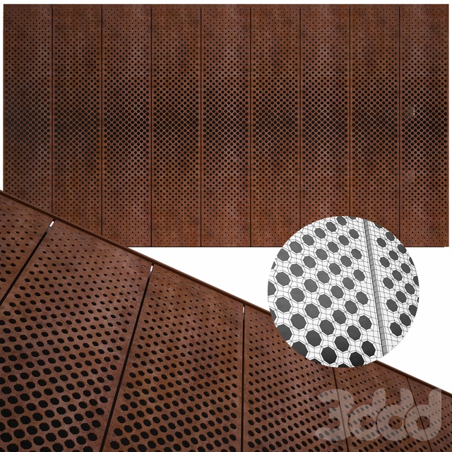 perforated metal panel N27