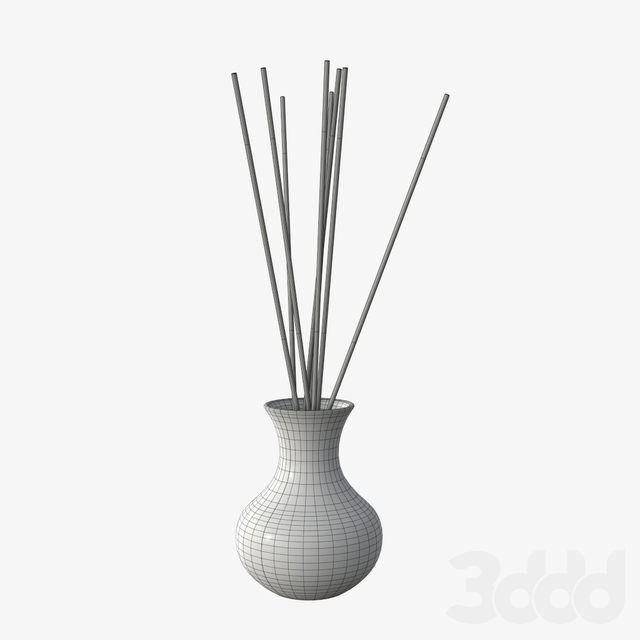 Air refresher bottle with sticks 06