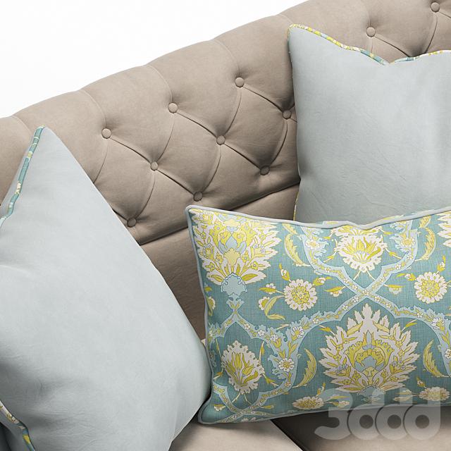 Haute House Majestic Lily Sofa