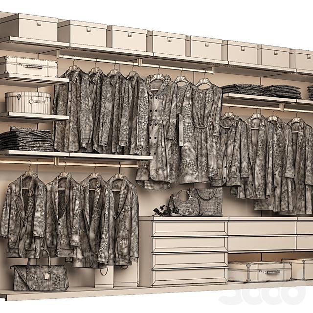 Poliform Ubik Walk-in Closet 2