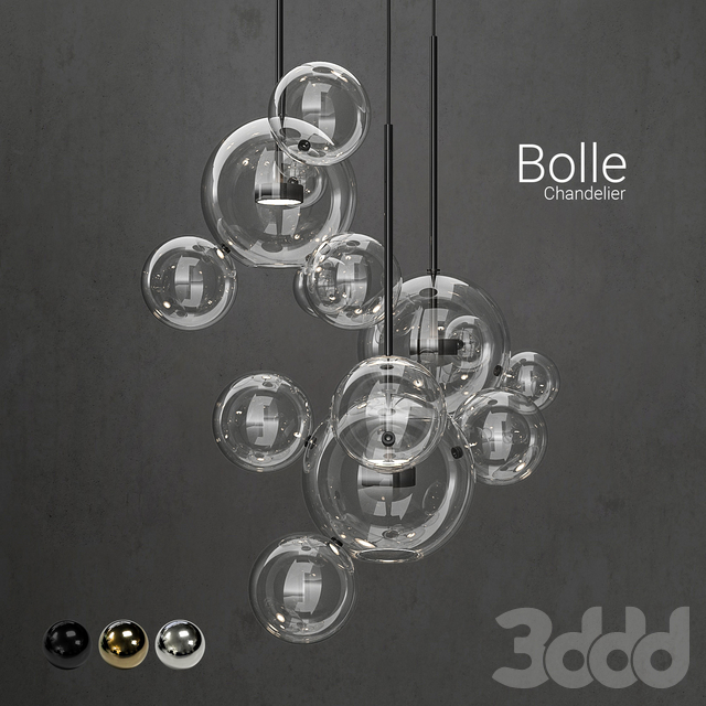 Chandelier Giopato & Coombes Bolle14 lights 2