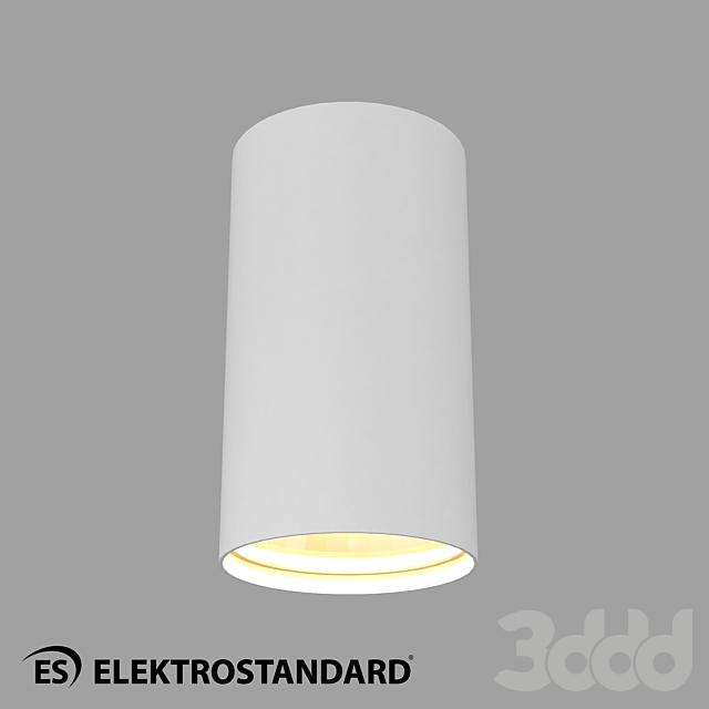 ОМ Накладной точечный светильник Elektrostandard 1081 (5255) GU10 WH