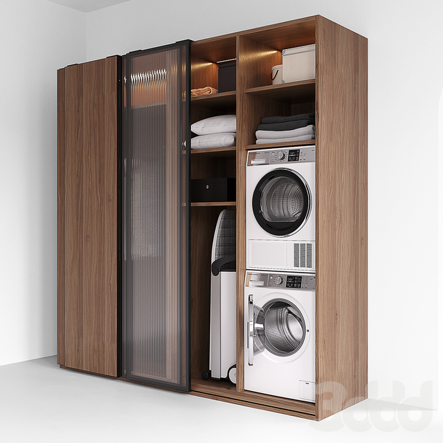 LAUNDRY SET (Fisher Paykel + Miele)