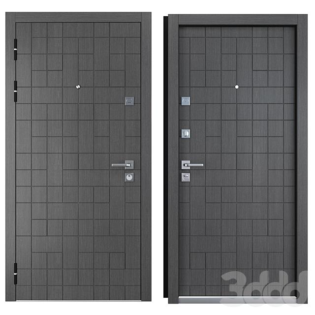 Входная металлическая дверь Каскад Plus (Straj)