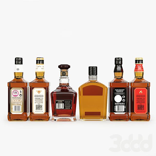 Jack Daniel's bottles collection