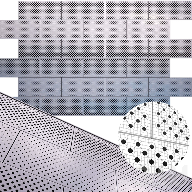 perforated metal panel N26