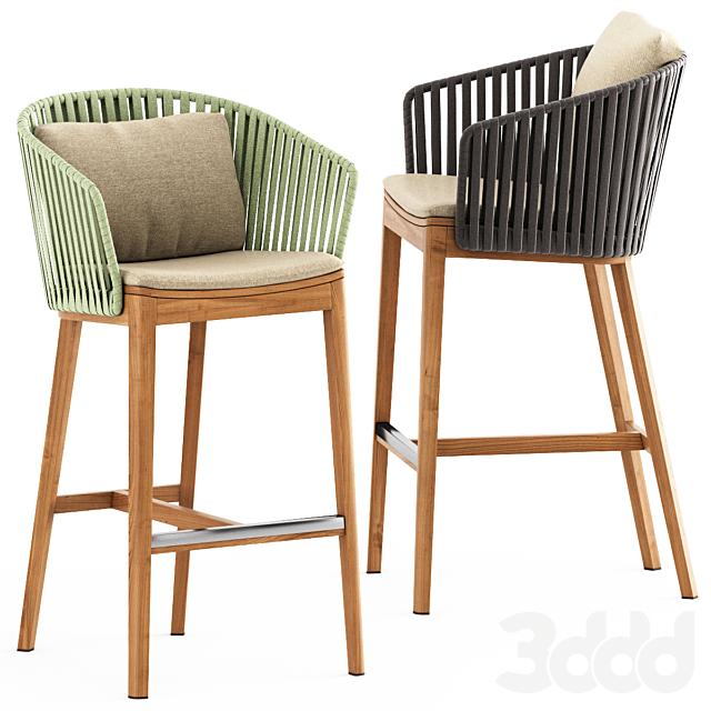 MOOD BAR Chair by Tribu