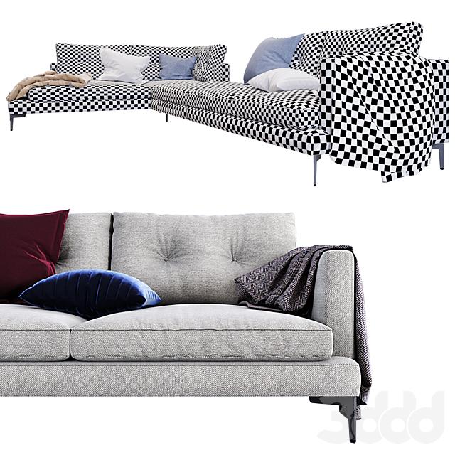 Модульный диван Essentiel Saba Italia GM-ESSN-03