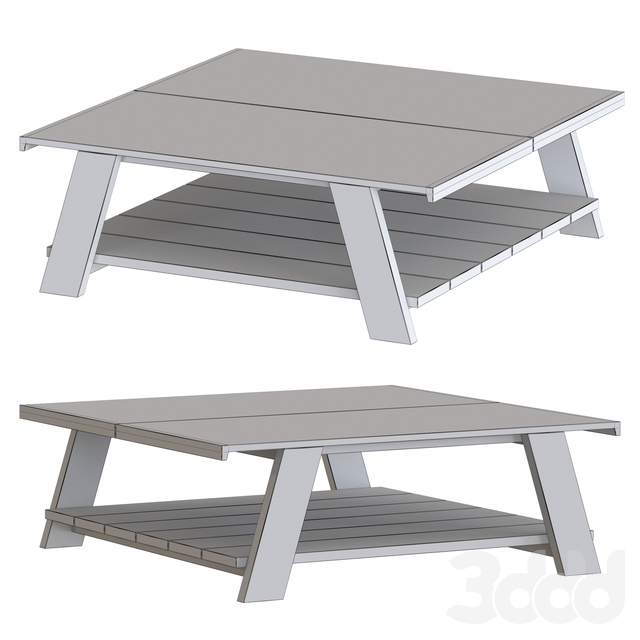 Meridiani Joi low table