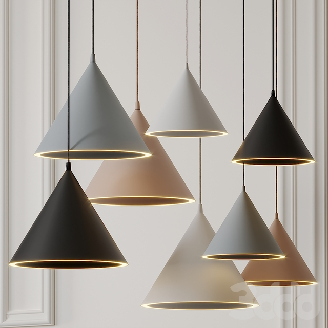 ANNULAR Pendant Lamps by Mintbliss