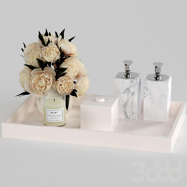 Декоративный набор для ванной.