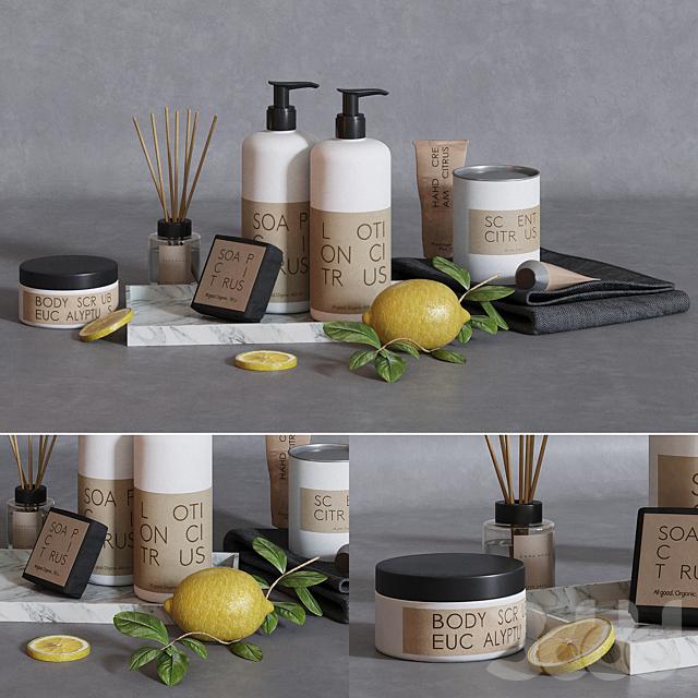 Granit skincare bath set
