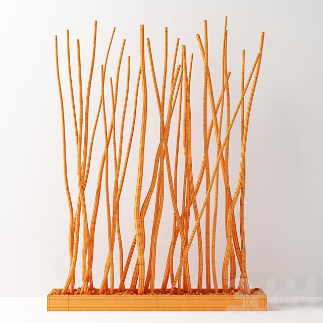 Кашпо из сухих веток / Dry branch decor