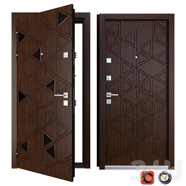Входная металлическая дверь Cristal (Zimen)