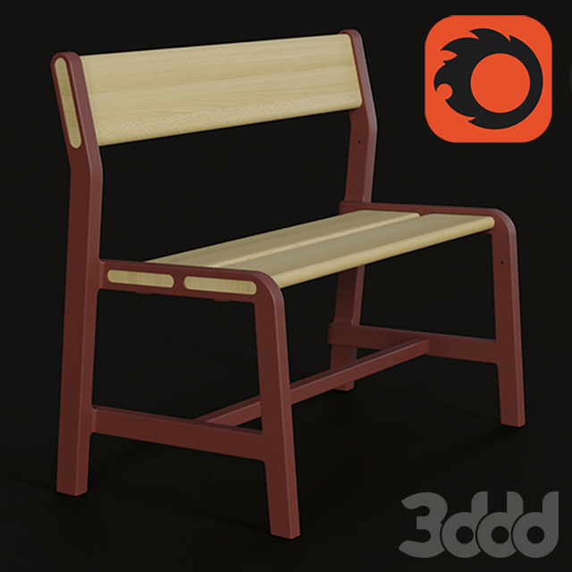 ypperlig childrens bench