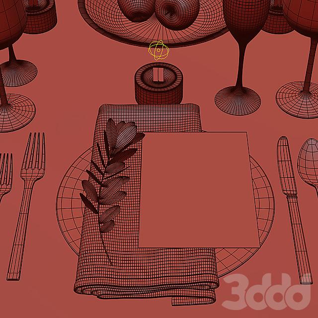 Сервировка стола / Table setting 16