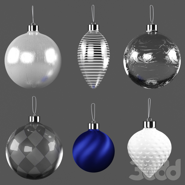 New Year Decor Set | Christmas Tree with Garland