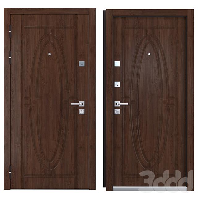 Входная металлическая дверь Monarch (Zimen)